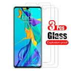 3Pcs Tempered Glass Screen Protector For Huawei Mate 20 30 P10 P20 P30 P40 Lite