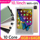 K10 Android 10.1 6GB RAM 64GB ROM WiFi GPS 5G Phone Call Tablet  32GB TF Card