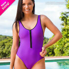DISCONTINUED Wicked Weasel One Piece Swimwear 804 Tropical Chill in 3 Colors