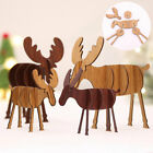 Elk+Xmas+Tree+Wooden+Ornaments+Christmas+Party+DIY+Crafts+Gift+Decor+Home+Garden