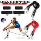 2x Latex Chest Expander Volleyball Training Belt Stretching Leg Resistance Bands