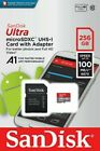 SanDisk Ultra 16GB 32GB 64GB 128GB Micro SD SDHC SDXC Class 10 Memory Card UHS-I <br/> 98-100MB/S With SD Adapter! Suitable for IP Camera/PSP!