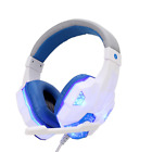3.5mm Gaming Headset LED Stereo Bass Surround Noise Reduction Mic For PC Laptop