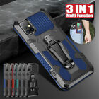For Samsung A71 A51 5G A41 A31 A12 A42 5G Shockproof Armor Hard Stand Cover Case