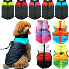 Coat for S/M/L Pet Dogs Puppy Winter Warmer Padded Harness Vest Jacket Clothes