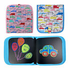 Children Drawing Graffiti Board Portable Painting Book Set with Water Chalk Gift