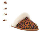UGG Scuffette II Leopard Natural Slipper Slip-on Women's US sizes 5-11 NEW
