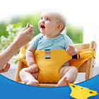 Baby Portable Feeding Seat Belt Baby HighChair Safety Belt Trolley Strap Cover