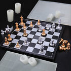 Chess Resin Casting Silicone Mold Checkers Checkerboard Expoy Craft Making DIY