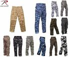 Rothco Military Camouflage BDU, Army Fatigue Tactical Combat Camo Pants SM-2X