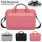 For Apple MacBook Air/Pro 13/15/16inch Notebook Sleeve Business Travel Carry Bag