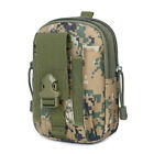 Men/Women's Military Tactical Camo Phone Molle Pouch Belt Waist Fanny Pack Bag