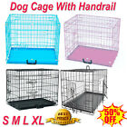 Dog Cage Puppy Crates Small Medium Large Extra Larger Pet Carrier Training Cages