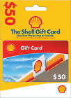 NEW $25 OR $50 Shell Gift Card - Car Truck Vehicle Gas Fuel Diesel Pump Or Store For Sale