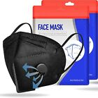 50/100 Pcs Black KN95 Protective 5 Layer Face Mask BFE 95% Disposable Respirator <br/> NEW YORK STOCK - SAME DAY SUPER FAST SHIPPING