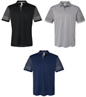 ADIDAS GOLF, UPF 50 , Sizes S-4XL, AUTHENTIC Men's Striped Polo Sport Shirt