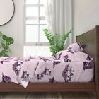 Toile Trailer Trash Mobile Home Redneck 100% Cotton Sateen Sheet Set by Roostery