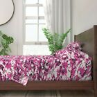 Pink Camo 100% Cotton Sateen Sheet Set by Roostery