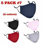 Adjustable ADULTS  Triple Layers Cotton Washable Reusable With Pocket Face Mask