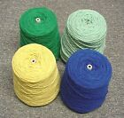 FOUR (4) One Pound Cones of 4-Ply Acrylic Yarn