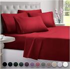 DreamCare Twin XL Sheets 4pcs XL Twin Sheet Set Twin XL Fitted Sheet Extra Long