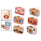 Baby Tooth Box Kids Keepsake Organizer Camera Box for Baby Milk Teeth and Lanugo