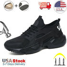 Mens Safety Work Shoes Steel Toe Boots Indestructible Outdoor Sneakers US SIZE