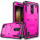 For LG K20 Plus / K20 V Case Slim Fit Full Body Hard TPU Skin Cover +Accessories
