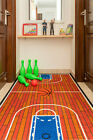 Basketball Court Ground Kids play Area Rug Anti Skid Backing - 690