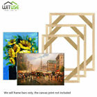 DIY Wooden Photo Frames Kit for Canvas Painting Art Stretcher Strip Gallery Wrap