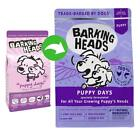 Barking Heads Dry Dog Food Puppy Days Complete Natural Grain Free 2kg 6 or 12 kg