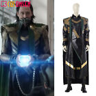 2021 TV Loki Cosplay Costume Deluxe Leather Outfit Custom Made lot