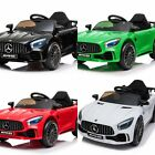 License Electric Children Car Mercedes GTR AMG 2 Elektro-Motoren MP3 USB MICROSD