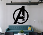 Avengers Wall Decal Home Gym Store Kids Room Decals Sticker