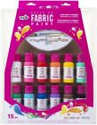 Tulip Brush-On Fabric Paint 12/Pkg-Rainbow