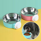 Plastic Bowl Dog Pet Food Feeder Water Dish Bowls with /no Stainless Steel Bowl