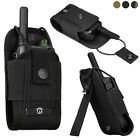 Tactical Molle Radio Pouch Walkie Talkie Holder Bag Outdoor Hunting Paintball