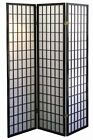 screen panel - 4 & 3  PANEL ROOM DIVIDER SCREEN ORIENTAL SHOJI 3 Color