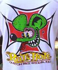 White Rat's Hole Red Iron Cross Big Daddy Rat Logo