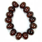 10x14mm Coffee Ceramics Rondelle Beads 14pcs
