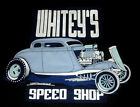 Rat Rod Hot Rod Zombie White'y Speed Shop ll Shop Shirt