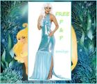 Ladies LITTLE MERMAID Womens FANCY DRESS FAIRYTALE COSTUME Size 8 10 12 14