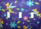 Tinkerbell Light Switch Plates Electrical Outlet Covers