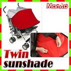 [manito] Twin Sunshade for baby strollers