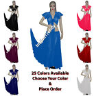 25 Color Skirt + Ruffle Top Choli Belly Dance Costume Tribal Dress Gypsy Sleeve