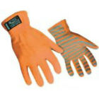 Ringers Hi Vis ORANGE REFLECTIVE Traffic Safety Gloves