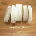 Adhesive Decoration Tape Sticker_Natural Lace Roll Tape