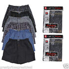 6 12 Mens Plaid Boxer Shorts Lot Underwear Packs Small Medium Large XL 2XL 3XL
