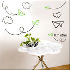 AIRPLANE Vinyl Wall/Window Decor KIDS Sticker GPC-011