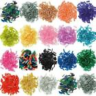 6mm Bugle Beads. 15g. 18 Colours. 1,2 or 3 Packs